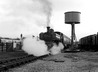 Pannier Tank at Quainton Road, February 1995