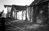 Stenopé (pinhole) - from negative