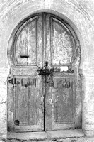 Traditional door - Sousse