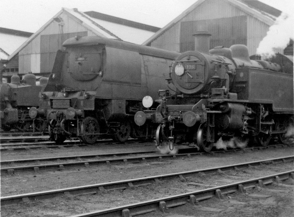 At Eastleigh Shed - May 1964
