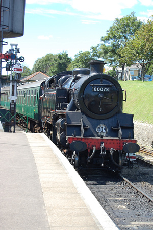 Swanage Railway, August 2007
